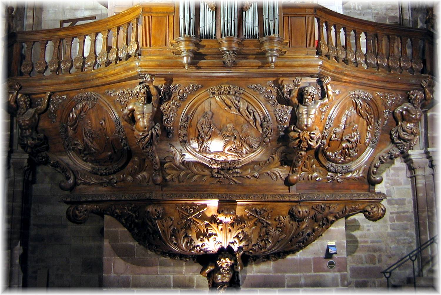 buffet de l'orgue  ABB29./ droits photo AASC