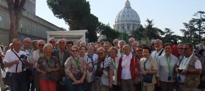 12 octobre 2014: Annonce de l'Ouverture de l'année Saint-Colomban par le pape François